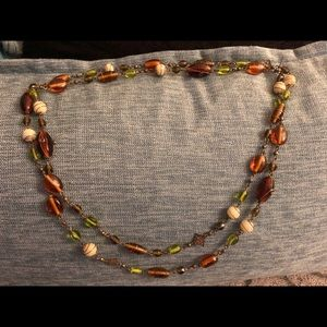 Xtra Long Beaded Necklace